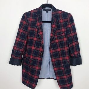 Tommy Hilfiger Boys Plaid Blazer - Size 14